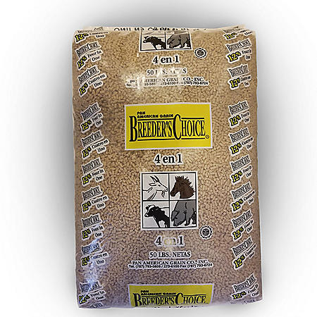 Breeder's Choice Animal Feed 4-in-1, 50 lbs.