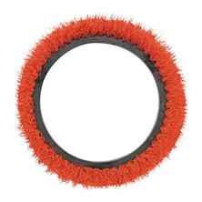 "Oreck Commercial Orbiter Smooth Texture Brush, Orange (12"" dia.)"