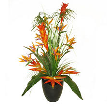"30"" Faux Deluxe Tropical Cypress Arrangement"