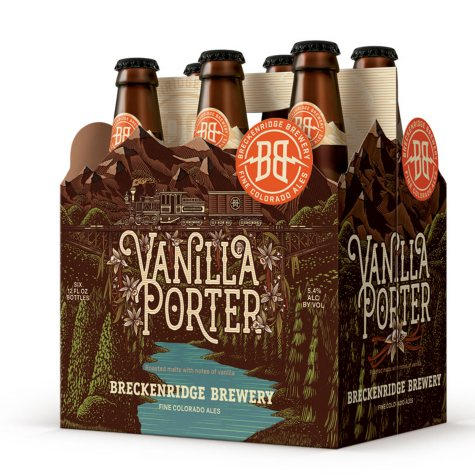 Breckenridge Vanilla Porter (12 fl. oz. bottle, 6 pk.)