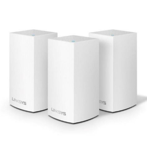 Linksys Velop Intelligent Mesh Wi-Fi System, 3-Pack Dual-Band AC3600