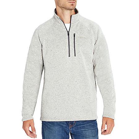 Eddie Bauer Men's 1/4 Zip Sweater Fleece Pullover