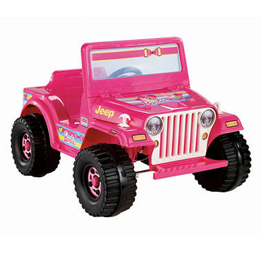6v Power Wheels Barbie Jeep Blitz