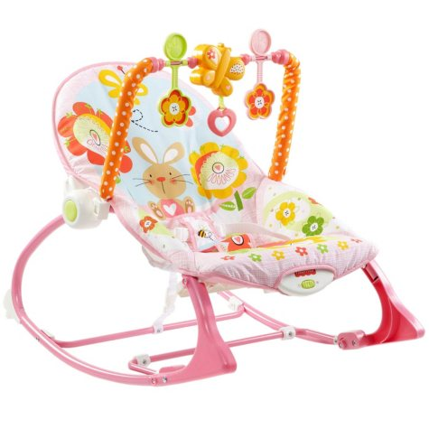 Fisher-Price Infant-to-Toddler Bunny Rocker