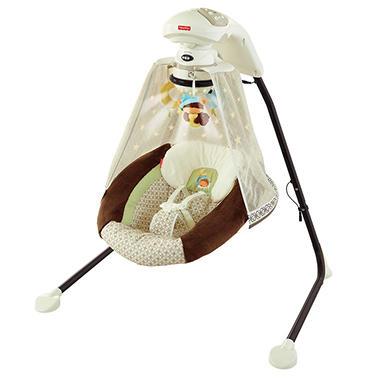 Fisher Price Starlight Papasan Cradle N Swing