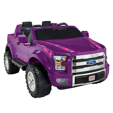 Fisher-Price Power Wheels F-150 12V, Purple