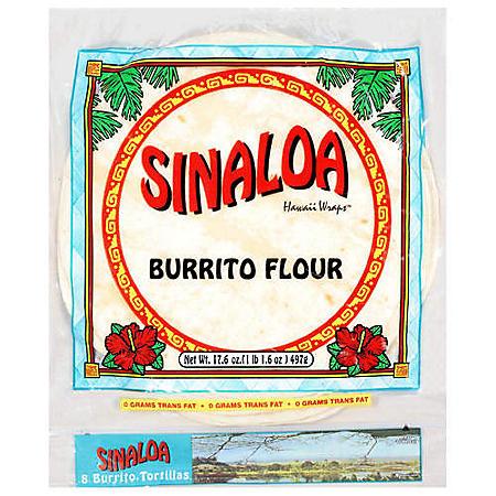 Sinaloa Hawaii Tortillas - 10 ct. - 3 pk.