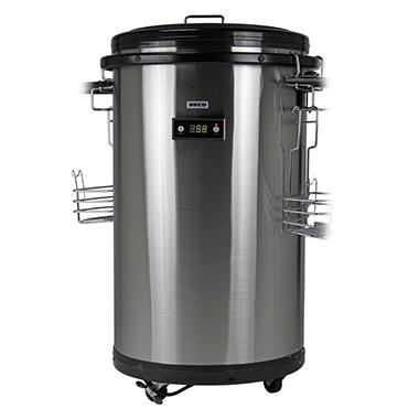 Deco Stainless Steel Refrigerated Party Cooler