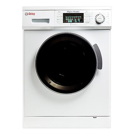 Galaxy 13 lb. Convertible Washer/Dryer Combo - GX4000CV - WHITE