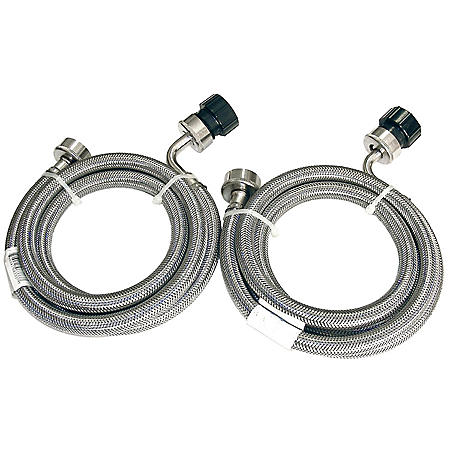Equator Stainless Steel Washing Machine Hoses