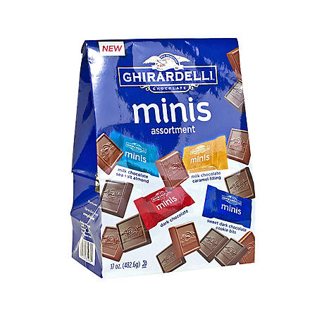 Ghirardelli Assorted Chocolate Minis (17 oz.)