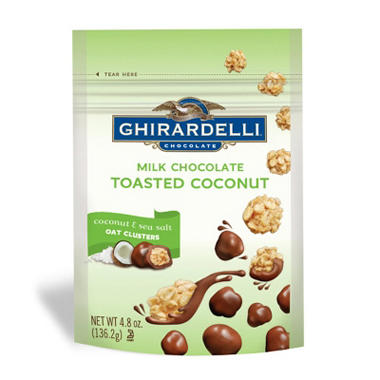 Ghirardelli Milk Chocolate Covered Coconut (21 oz.)