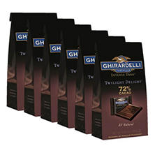 Ghirardelli Intense Dark TwilightDelight 72%  (6 pk.)