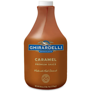 Ghirardelli Caramel Sauce (90.4 oz.) - Sam's Club