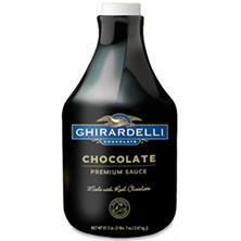 Ghirardelli Black Label Chocolate Sauce Bottle (87.3 oz.)