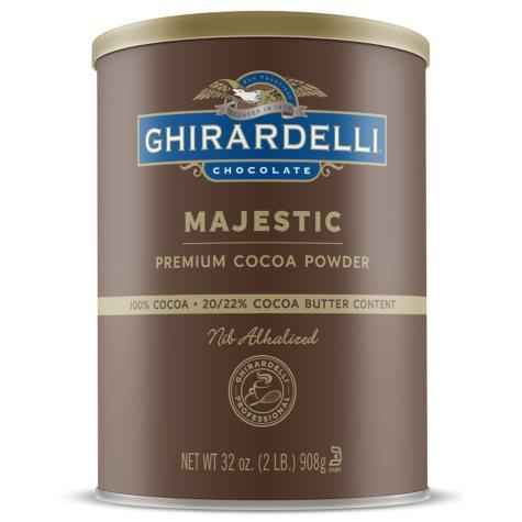Ghirardelli Majestic Cocoa Powder (32 oz.)