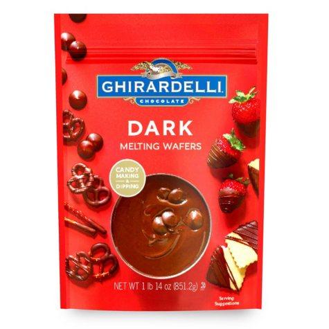 Ghirardelli Dark Melting Wafers (30 oz.)