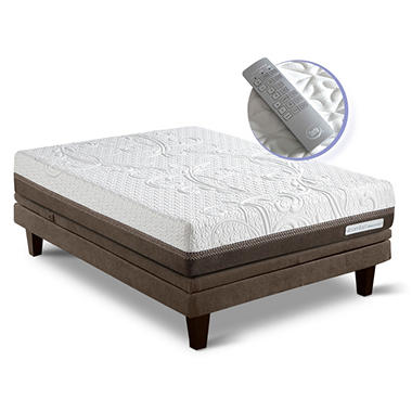 Serta iComfort Directions Reinvention Motion Custom Adjustable Foundation Mattress Set - Queen