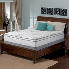 Serta Perfect Sleeper Wynstone Cushion Firm Eurotop Queen Mattress Set