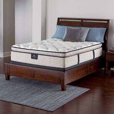 serta perfect sleeper castleview cushion firm pillowtop queen mattress set - Serta Bed Frame