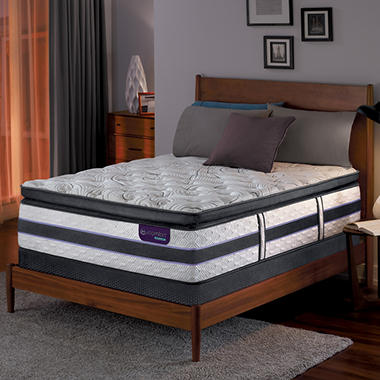 Serta iComfort Hybrid HB700Q Super Pillowtop SmartSupport King Mattress Set