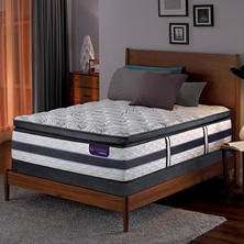 Serta iComfort Hybrid HB500Q Super Pillowtop SmartSupport Queen Mattress Set
