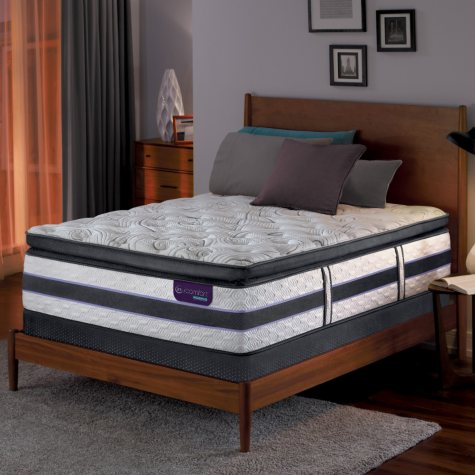 Serta iComfort Hybrid HB500Q Super Pillowtop SmartSupport King Mattress Set