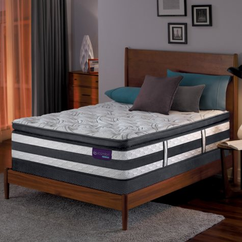 Serta iComfort Hybrid Expertise Super Pillowtop Queen Mattress Set