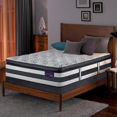 Serta iComfort Hybrid Advisor Super Pillowtop Twin XL Mattress Set