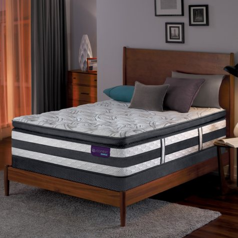 Serta iComfort Hybrid Advisor Super Pillowtop Full Mattress Set