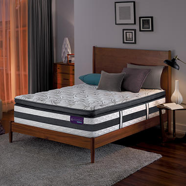 serta icomfort hybrid advisor super pillowtop king mattress - Serta Bed Frame
