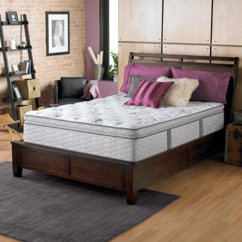 Serta Perfect Sleeper Dunway Plush Super Pillowtop Mattress (Club Pickup)