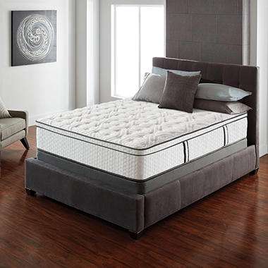 Serta Lux Suite Eurotop Twin Mattress Set