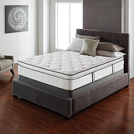 Serta Lux Suite Pillowtop Twin Mattress Set