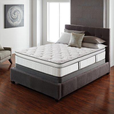 Serta Lux Suite Pillowtop King Mattress Set Sams Club