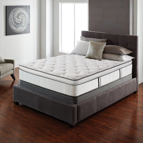 Serta Lux Suite Pillowtop Full Mattress Set