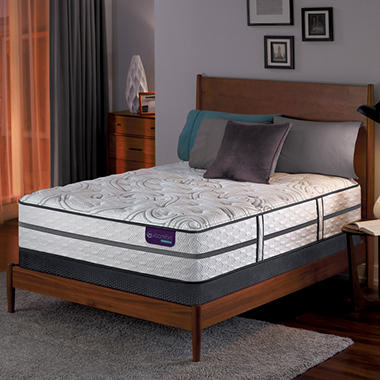 Serta iComfort Hybrid Vantage II Plush Low-Profile Queen Mattress Set