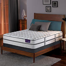 Serta iComfort Hybrid Vantage II Firm Low-Profile Queen Mattress Set