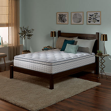 Serta Perfect Sleeper Wynstone II Cushion Firm Eurotop King Mattress