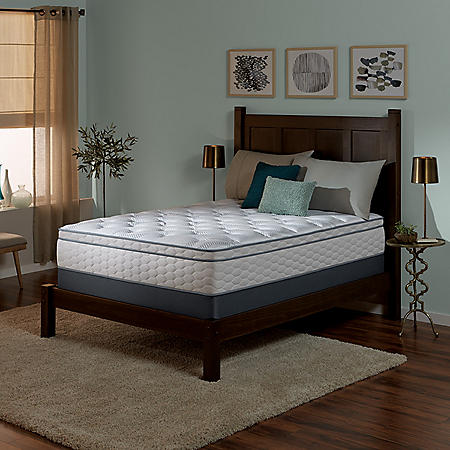 Serta Perfect Sleeper Wynstone II Cushion Firm Eurotop King Mattress Set