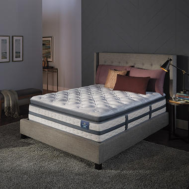 Serta Perfect Sleeper Luxury Hybrid Glenmoor Super Pillowtop Queen Mattress (Club Pick up)