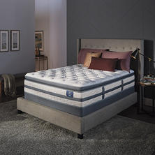 Serta Perfect Sleeper Luxury Hybrid Glenmoor Super Pillowtop King Mattress Set