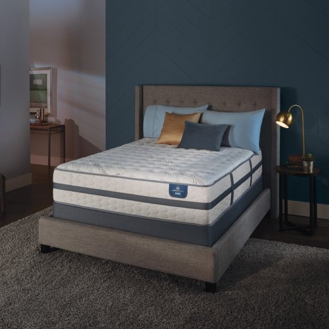 Serta Perfect Sleeper Luxury Hybrid Oakbridge II Firm Twin Mattress Set