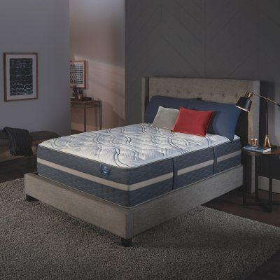 Serta Perfect Sleeper Luxury Hybrid Blakefield Plush Mattress Club