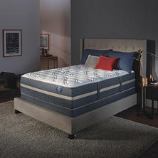 Serta Perfect Sleeper Luxury Hybrid Blakefield Plush Full Mattress Set