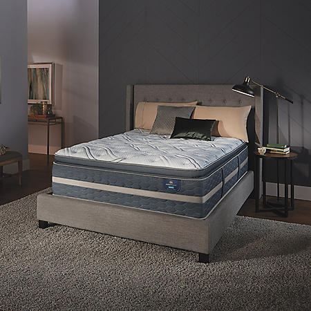 Serta Perfect Sleeper Luxury Hybrid Elmridge Super Pillowtop Queen Mattress
