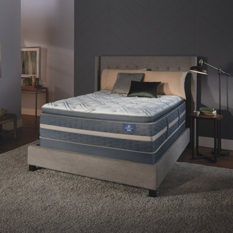Serta Perfect Sleeper Luxury Hybrid Elmridge Super Pillowtop Twin XL Mattress Set
