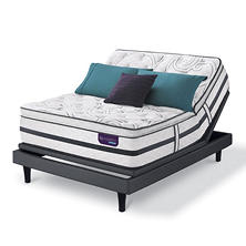 Serta iComfort Hybrid Limited Edition Super Pillowtop California King Mattress and Motion Essentials Adjustable Foundation