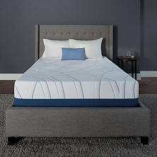 "Serta SleepToGo 12"" Gel Memory Foam Luxury Queen Mattress"