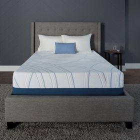 serta sleeptogo 12 gel memory foam luxury queen mattress - Sams Club Mattress Sale
